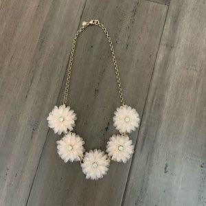 J. Crew floral statement necklace
